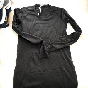 Lululemon Run swiftly in black size 8